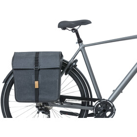 Basil Urban Dry Double Pannier Bag 50l, charcoal melee